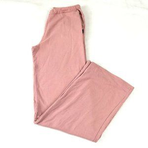Tory Burch Sport Sweatpants Size M Pink Pull On